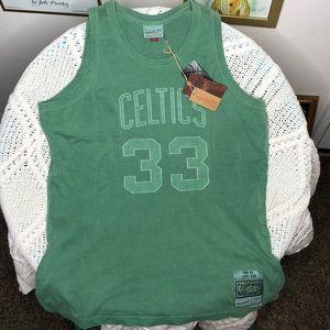 Washed Out Swingman Jersey Boston Celtics 1985-86